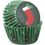 Mini Stocking Baking Cups 100pc