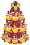 Primary Colour Cupcake Stand Kit