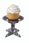 Damask Black and White Individual Treat & Cupcake Stand