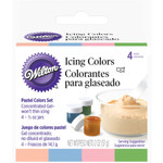 4pc Icing Colour Set Pastel