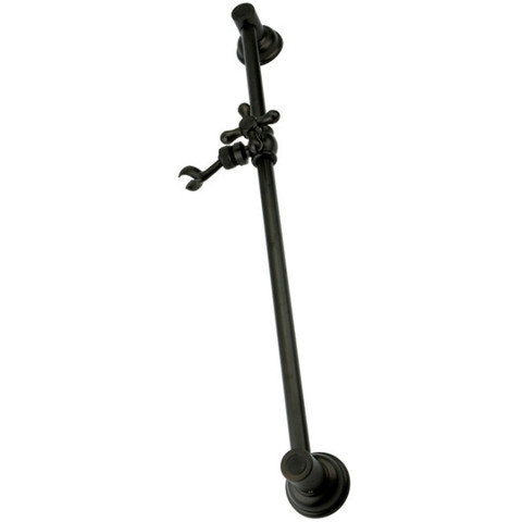 "Oil Rubbed Bronze Kingston Brass 24"" Shower Slide Bar with Adjustable Bracket KSX3525SG"