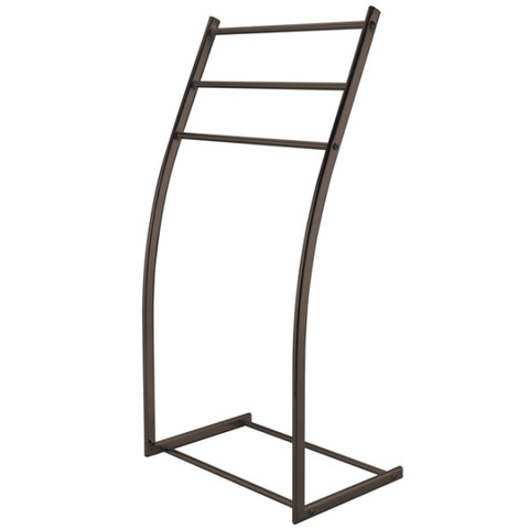 Oil Rubbed Bronze Kingston Brass SCC8255 Pedestal Steel Construction Towel Rack, Oil Rubbed Bronze SCC8255