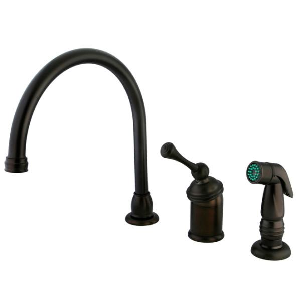 Oil Rubbed Bronze Bathroom Sink Faucet  New KB3405PL