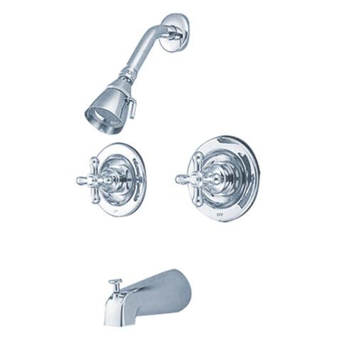 Polished Chrome Two Handle Tub & Shower Faucet KB661AX