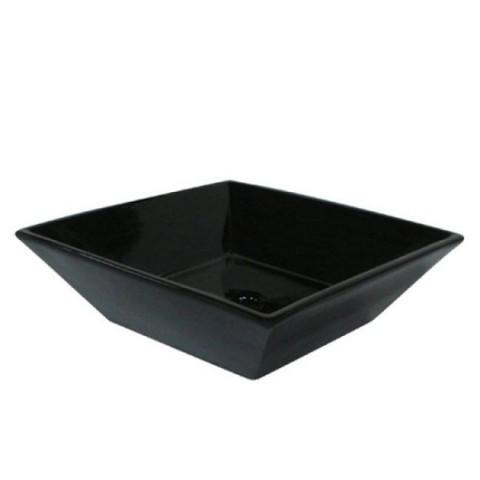 Black Black China Vessel Bathroom Sink without Overflow Hole EV4256K