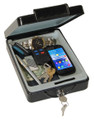 "2.56"" x 6.3"" x 8.27"" Steel Car Security Safe HWDS6114"