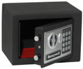 "6.6"" x 9"" x 6.7"" Digital Keypad Black Small Steel Security Safe HWDS5005"