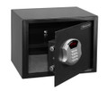 "11.7"" x15"" x 12.5"" Programmable Hotel-Style Steel Black Security Safe HWDS5103"