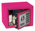 "6.6"" x 9"" x 7"" Pink Digital Keypad Small Steel Security Safe HWDS5005P"