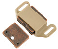Belwith Hickory 1-5/8 In. Tan Plastic Magnetic Catch P110-TP Hardware