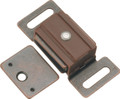 Belwith Hickory 1-7/8 In. Statuary Bronze Magnetic Catch P649-STB Hardware