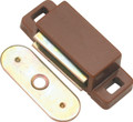 Belwith Hickory 1-1/2 In. Statuary Bronze Small Magnetic Catch P650-STB Hardware