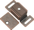 Belwith Hickory 1-7/8 In. Statuary Bronze Double Magnetic Catch P651-STB Hardware