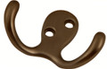 Belwith Hickory 2 In. Utility Refined Bronze Hook P27115-RB Hardware