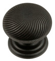 Belwith Hickory 1-1/4 In. Black Iron Cabinet Knob P3609-BI Hardware