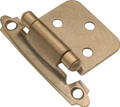 Belwith Hickory Antique Brass Surface Self-Closing Flush Hinge (2-Pack) P144-AB Hardware