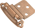 Belwith Hickory Antique Copper Surface Self-Closing 3/8 In. Offset Hinge (2-Pack) P243-AC Hardware