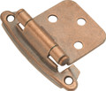Belwith Hickory Antique Copper Surface Self-Closing Flush Hinge (2-Pack) P244-AC Hardware