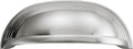 Belwith Hickory 96mm Deco Satin Nickel Cabinet Cup Pull P3104-SN Hardware
