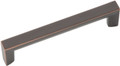 Belwith Hickory 96mm Rotterdam Oil-Rubbed Bronze Cabinet Pull P3112-OBH Hardware