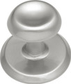 Belwith Hickory 1-1/8 In. Metropolis Satin Nickel Cabinet Knob K64-SN Hardware