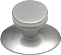 Belwith Hickory 1 In. Metropolis Satin Nickel Cabinet Knob K65-SN Hardware