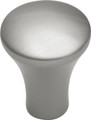Belwith Hickory 1 In. Metropolis Satin Nickel Cabinet Knob PA0213-SN Hardware
