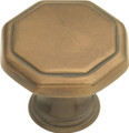 Belwith Hickory 1-1/8 In. Conquest Veneti Bronze Cabinet Knob P14004-VBZ Hardware