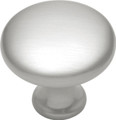Belwith Hickory 1-1/8 In. Conquest Satin Nickel Cabinet Knob P14255-SN Hardware