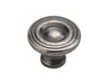 Belwith Hickory 1-1/8 In. Conquest Black Nickel Vibed Cabinet Knob P14402-BNV Hardware
