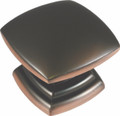 Belwith Hickory 1-1/2 In. Euro-Contemporary Oil-Rubbed Bronze Cabinet Knob P2163-OBH Hardware