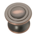 Belwith Hickory 1-1/4 In. Deco Oil-Rubbed Bronze Cabinet Knob P3101-OBH Hardware