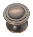 Belwith Hickory 1-1/16 In. Deco Oil-Rubbed Bronze Cabinet Knob P3102-OBH Hardware