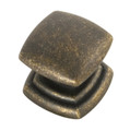 Belwith Hickory 1-1/4 In. Corinth Windover Antique Cabinet Knob P3181-WOA Hardware