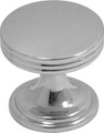 Belwith Hickory 1 In. American Diner Chrome Cabinet Knob P2140-CH Hardware