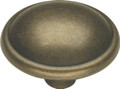 Belwith Hickory 1-1/4 In. Oxford Antique Windover Antique Cabinet Knob PA1213-WOA Hardware