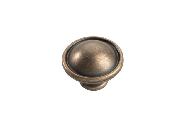 Hickory Hardware PA1211-WOA 3//4-Inch Oxford Antique Cabinet Knob Windover Antique