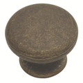 Belwith Hickory 1-1/4 In. Oxford Antique Windover Antique Cabinet Knob PA1216-WOA Hardware