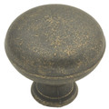 Belwith Hickory 1-1/4 In. Oxford Antique Windover Antique Cabinet Knob PA1218-WOA Hardware