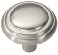 Belwith Hickory 1-1/8 In. Bel Aire Satin Nickel Cabinet Knob P3464-SN Hardware