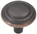 Belwith Hickory 1-1/8 In. Bel Aire Vintage Bronze Cabinet Knob P3464-VB Hardware