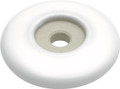 Belwith Hickory 1-11/16 In. English Cozy White Back plate P68-W Hardware