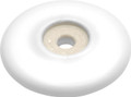 Belwith Hickory 2-1/16 In. English Cozy White Back plate P69-W Hardware