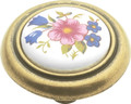 Belwith Hickory 1-1/4 In. English Cozy Bouquet Cabinet Knob P776-BQ Hardware