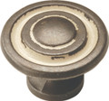 Belwith Hickory 1-3/8 In. Manchester Biscayne Antique Cabinet Knob P2011-BYA Hardware