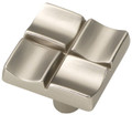 Belwith Hickory 1 In. Tidal Flat Nickel Cabinet Knob P3457-FN Hardware