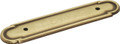 Belwith Hickory 3 In. Tranquility Lancaster Hand Polished Back plate P273-LP Hardware