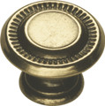 Belwith Hickory 1 In. Manor House Lancaster Hand Polished Cabinet Knob P8011-LP Hardware
