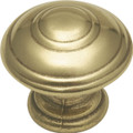 Belwith Hickory 1 In. Manor House Lancaster Hand Polished Cabinet Knob P8101-LP Hardware