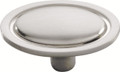 Belwith Hickory 1-1/2 In. Modern Accents Satin Nickel Cabinet Knob P405-SN Hardware